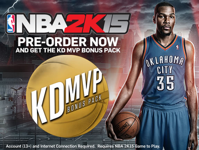 NBA 2K15 Pre Order
