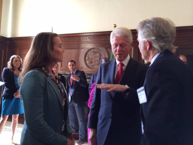 John Kitzhaber Bill Clinton