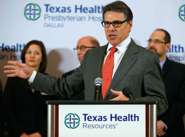 Rick Perry Ebola
