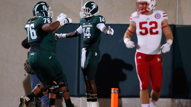 Tony Lippett, Michigan State, Nebraska