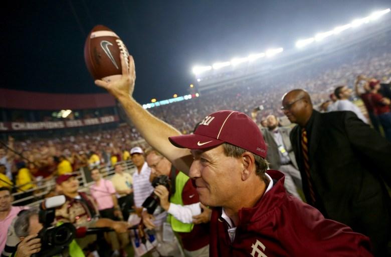Florida State head coach Jimbo Fisher (GETTY)