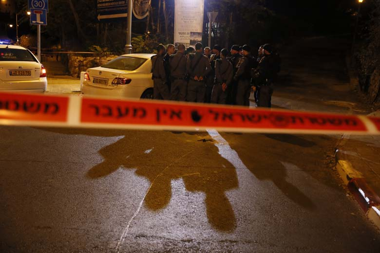 The IDF are searching for a suspect. (Getty)