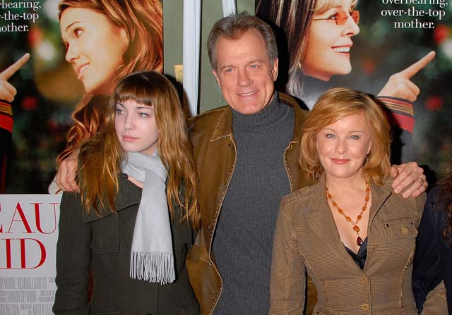 Kate Collins Faye Grant Stephen Collins Family