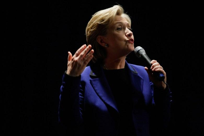Hillary Clinton, Clinton Iowa