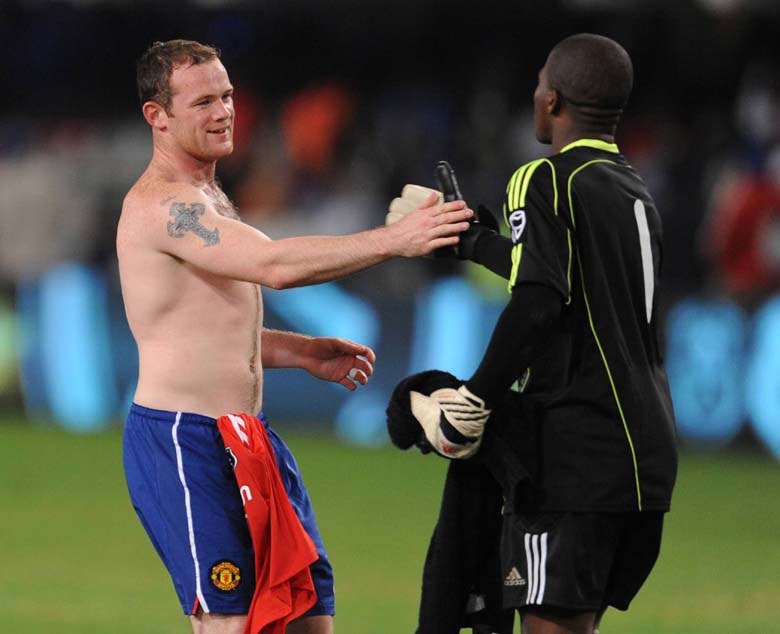 Senzo Meyiwa Wayne Rooney