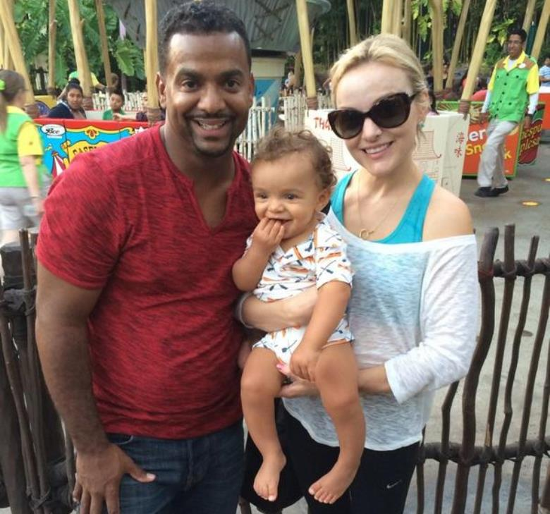 Angela Unkrich, Alfonso Ribeiro Wife: Dancing With The ...