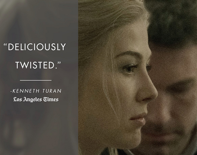 rosamund pike, gone girl spoilers, gone girl release date