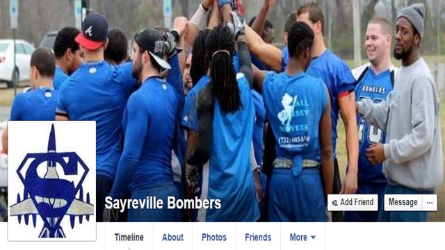 Sayreville Bombers Football