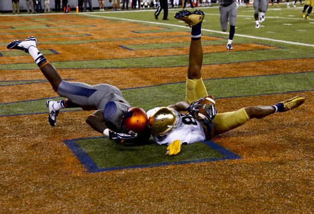 Corey Robinson Notre Dame vs. Syracuse