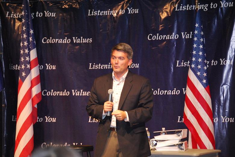 Cory Gardner, Cory Gardner Senate Colorado