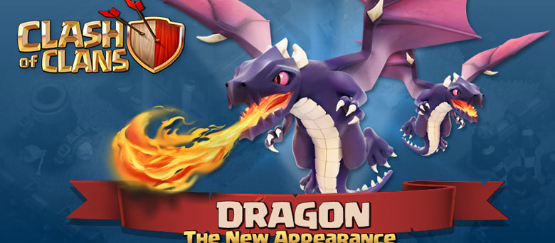 Clash of Clans Dragon