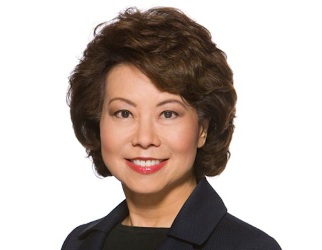 Elaine Chao headshot, Elaine Chao