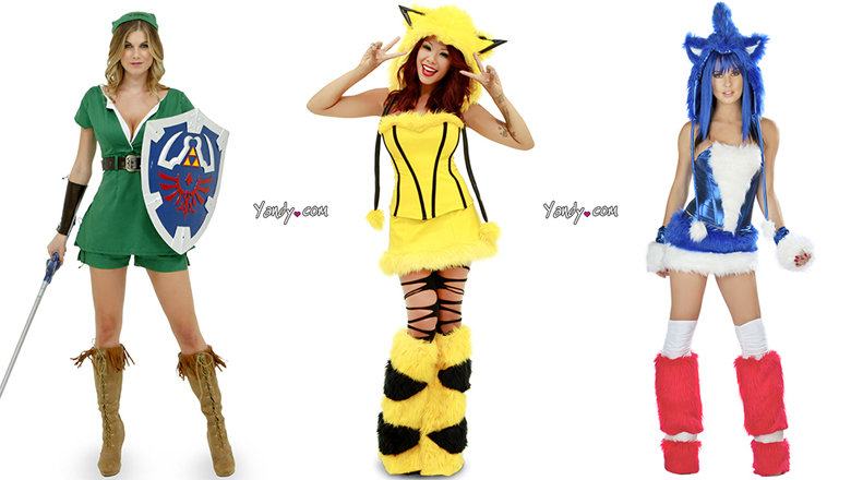 Halloween Video Game Costumes
