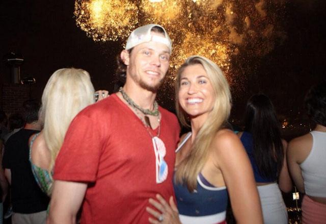 Lindsey Clubine, Clay Buchholz, Clay Buzhholz wife