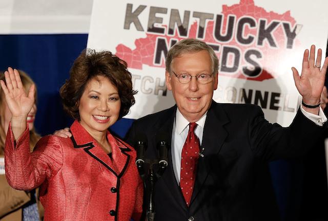 Elaine Chao, Mitch McConnell, Kentucky Senate