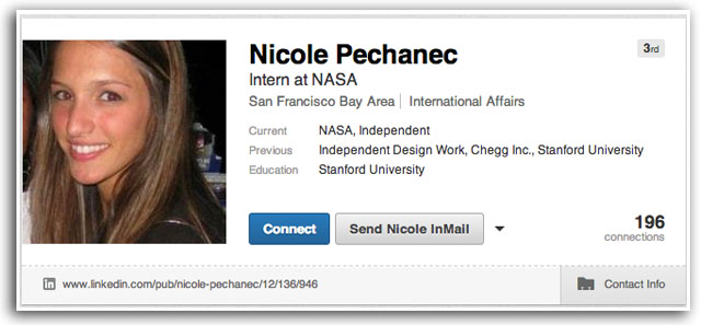 Nicole Pechanec LinkedIn