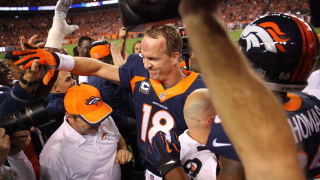 Peyton Manning touchdown record
