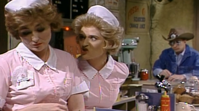 Jan Hooks SNL Waitress