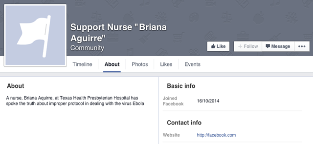 Briana Aguirre Facebook