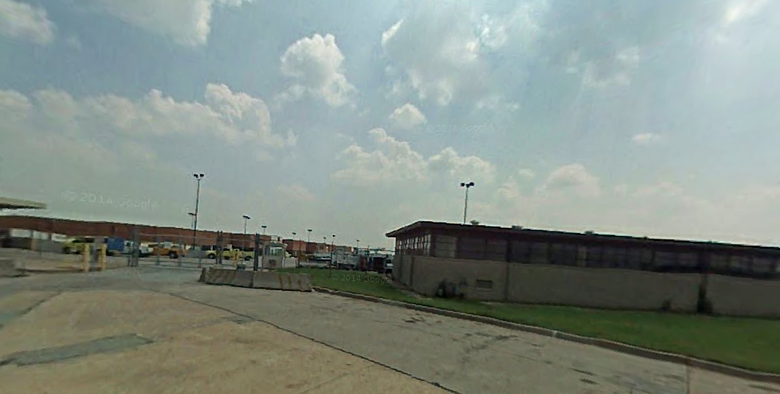 The crash happened here at 1851 S Airport Road. (Google Street View)