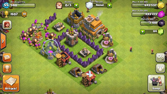 Clash of Clans Town Hall 2