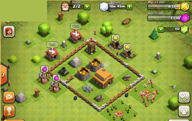 Clash of Clans' Builder: Best Town Hall 3 Layouts | Heavy.com