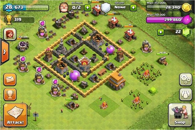 Clash Of Clans Builder Best Town Hall 5 Layouts Heavy Com