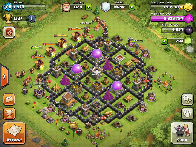 Clash of Clans' Builder: Best Town Hall 8 Layouts | Heavy.com