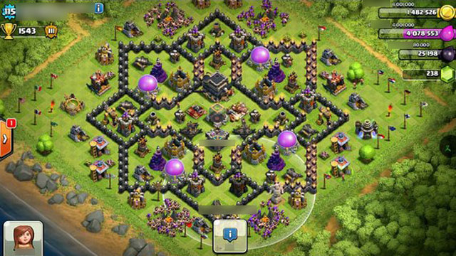 Clash of Clans' Builder: Best Town Hall 9 Layouts | Heavy.com