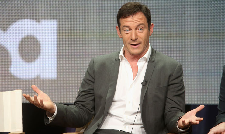 Jason Issacs Answer Questions At THe 2014 TCA Tour