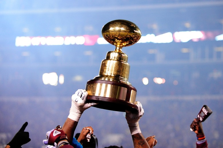 Egg Bowl trophy, Mississippi State Ole Miss