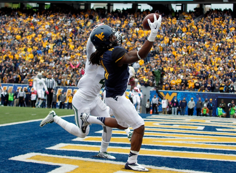 Kevin White is among the nation's leaders in receiving with 91 catches for 1,207 yards. (Getty)
