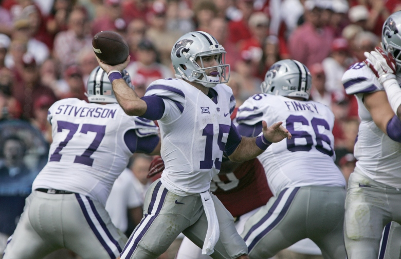 Jake Waters has been a dual-threat quarterback, accounting for 20 total touchdowns. (Getty)