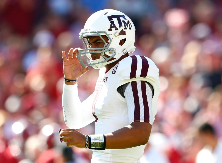 Texas A&M quarterback Kenny Trill was suspended for 2 games. (GETTY)