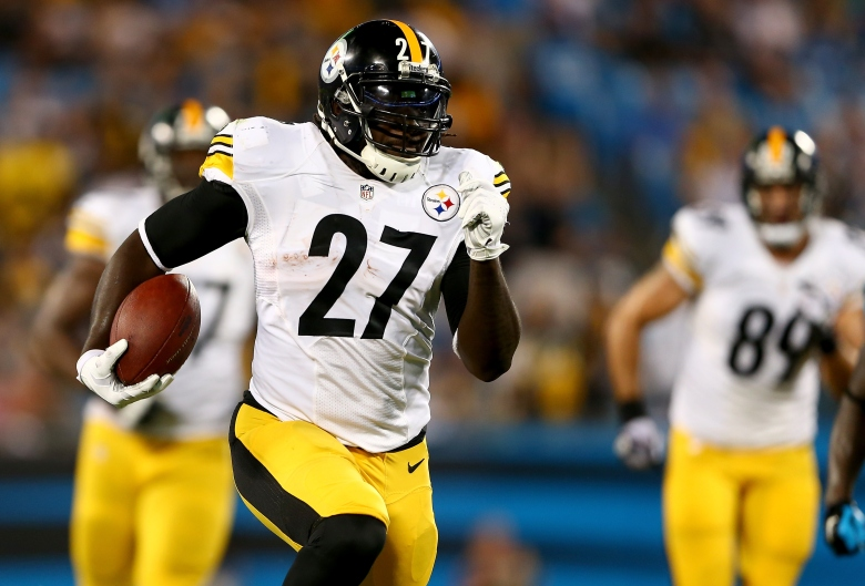 Veteran running back LeGarrette Blount was released Tuesday by the Pittsburgh Steelers. (Getty)