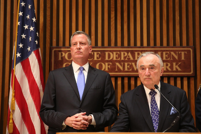 Bill deBlasio, Bill Bratton, mayor, NYPD