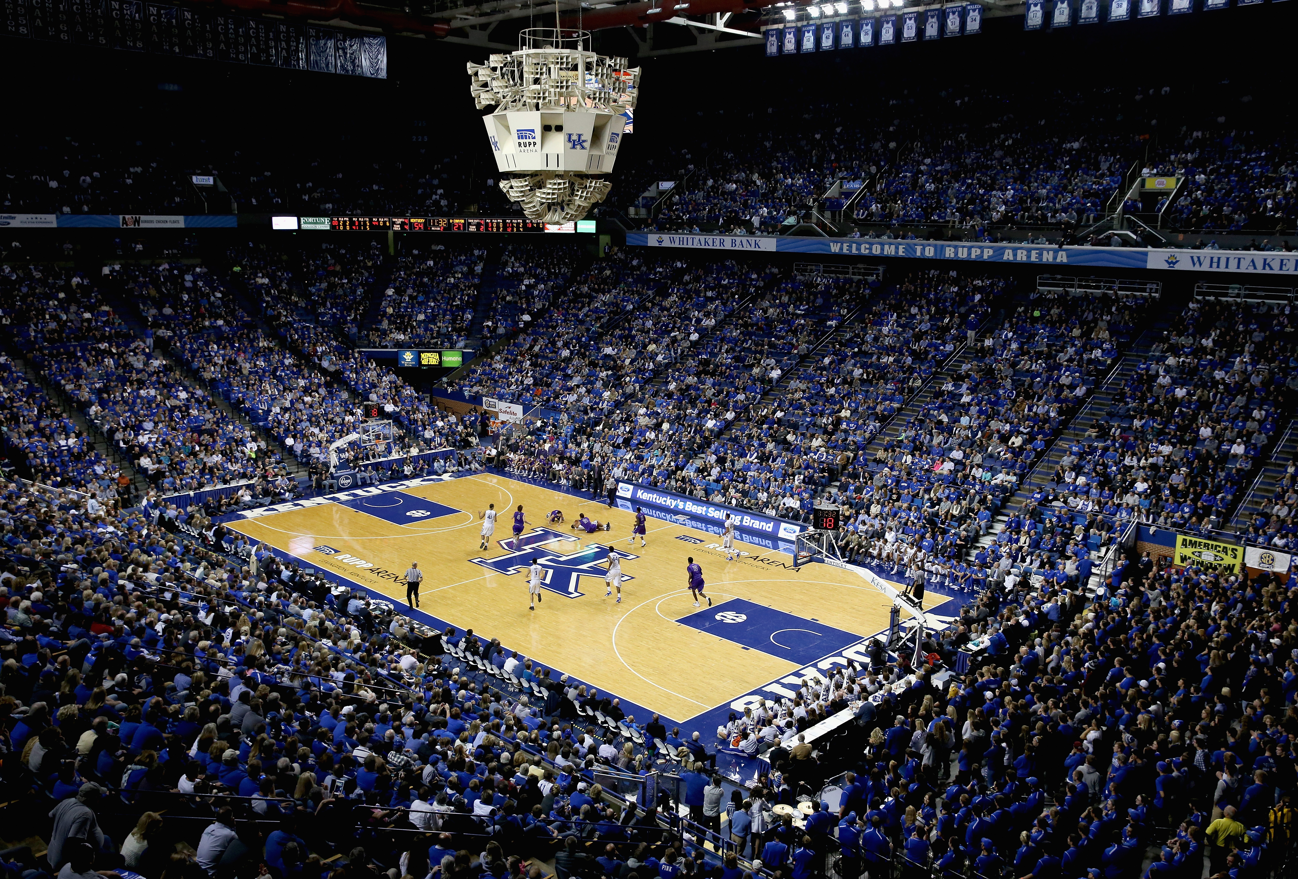 Inside Rupp Arena (Getty)