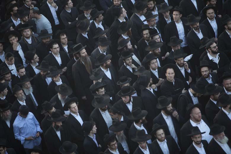 Rabbi Twersky's funeral