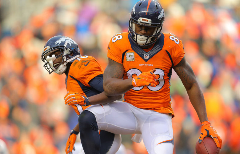 Demaryius Thomas, Emmanuel Sanders, Denver Broncos