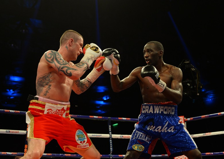Ricky Burns and Terence Crawford (Getty)