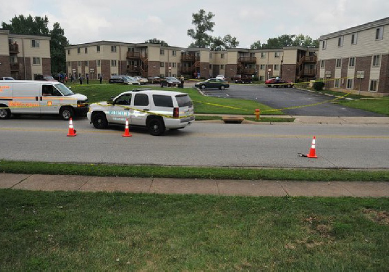 new ferguson crime scene photos, darren wilson not indicted