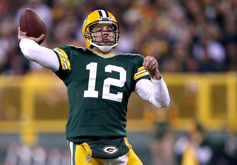 Aaron Rodgers, Bears vs. Packers