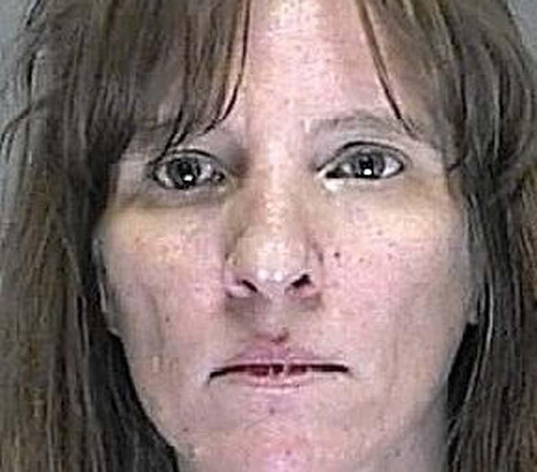 Angela Stoldt's mugshot