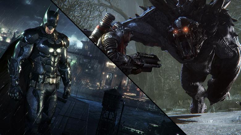 Batman Arkham Knight, Batman Arkham Knight gamplay, Batman Arkham Knight trailer, evolve, evolve gameplay, evolve trailer