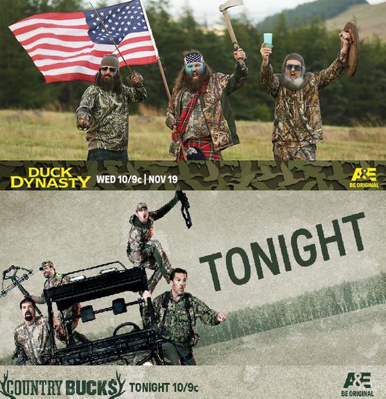 Country Bucks New Duck Dynasty, Duck Dynasty Premiere, Duck Dynasty Cast, The Robertsons, Willie Robertson, Busbice Family, Country Bucks Cast