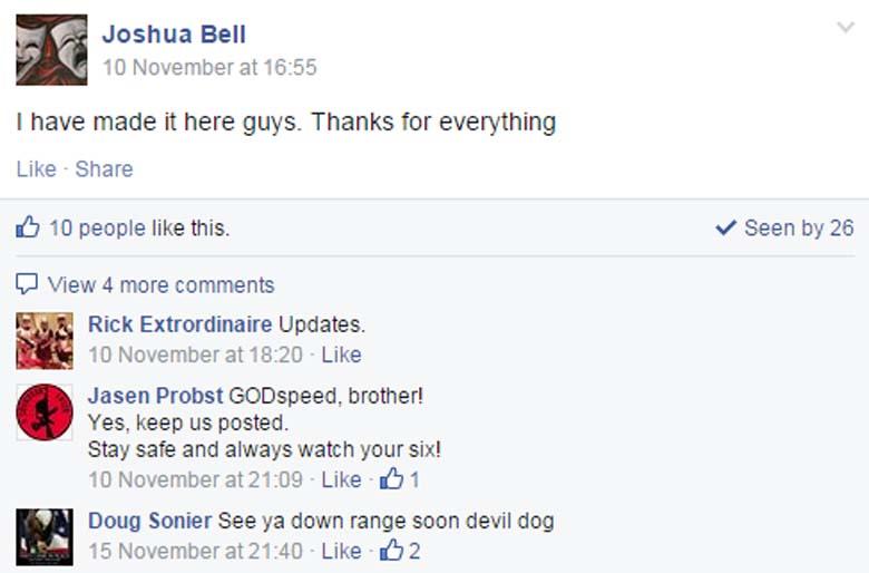 Joshua Bell Facebook