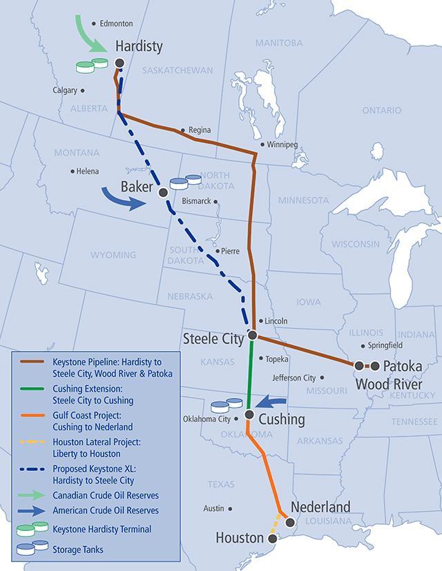 Keystone-Pipeline-System-Map
