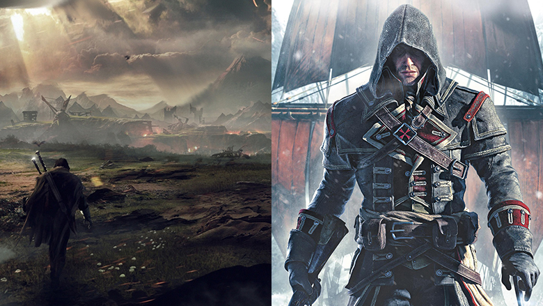 Middle-earth Shadow of Mordor Assassin's Creed Rogue