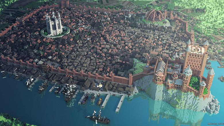 Minecraft King's Landing