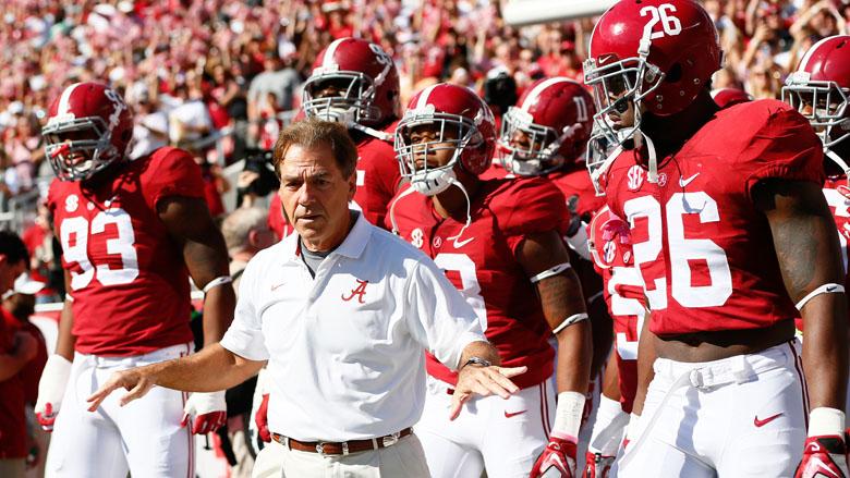 Nick Saban, Alabama football vs. Mississippi State